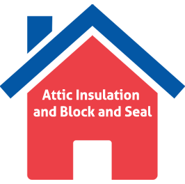 Attic Insulation and Block & Seal