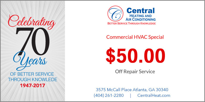 Commercial HVAC Special - Repair Service