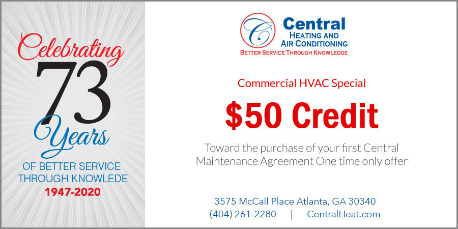 Commercial HVAC Special - Credit